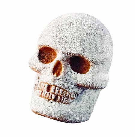 Large 3D Skull Cake For Halloween