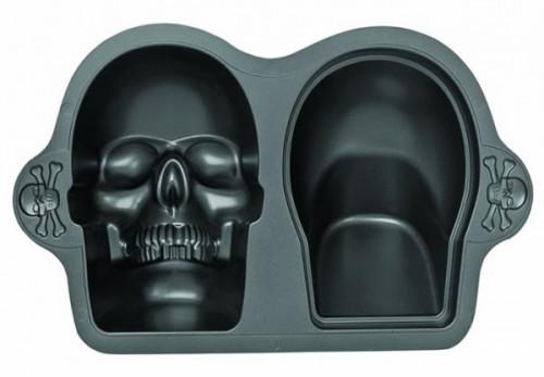 Large 3D Skull Cake Baking Pan