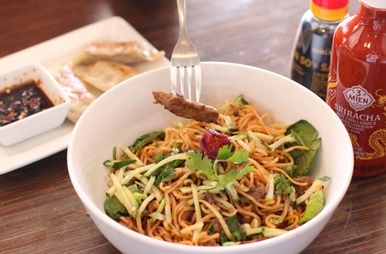 Noodles & Company Spicy Korean Beef Noodle Bowl