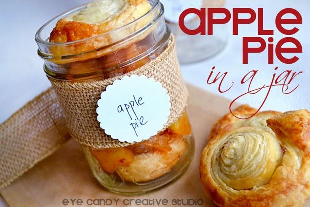 Apple Pie In A Mason Jar Recipe Gift