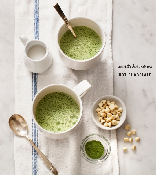 matcha-green tea-hot-chocolate