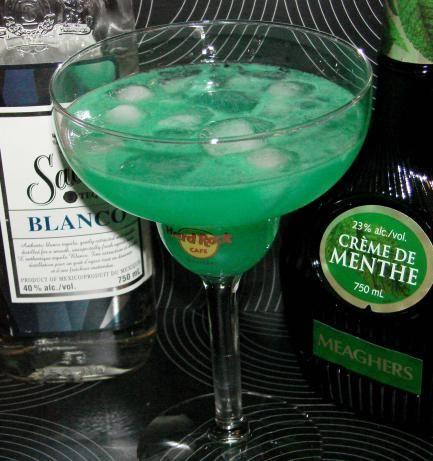 Irish Margarita Green St Patricks Day Cocktail Recipe
