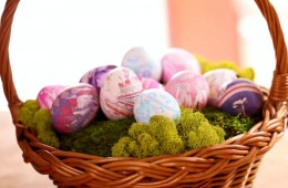 Create Beautiful Easter Eggs With Silk Ties or Scarves