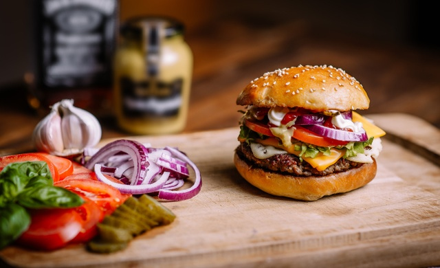 how to make burger aties