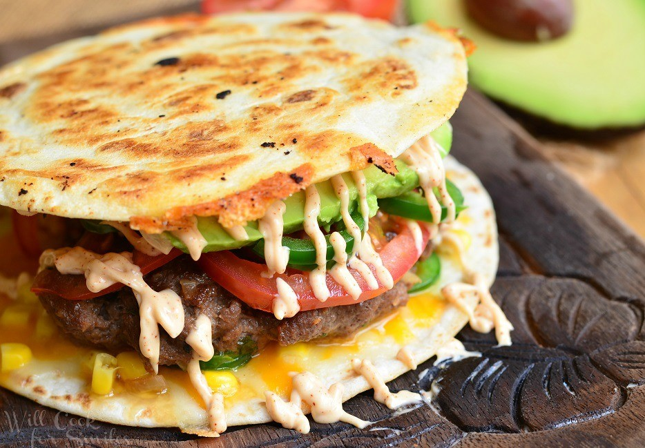 Quesadilla-Burger-willcookforsmiles