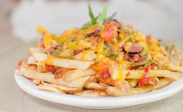 Bourbon Street Grille Dahlonega Gumbo Cheese Fries