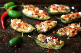 Recipe: Cheese And Chorizo Stuffed Baked Jalepeno Peppers