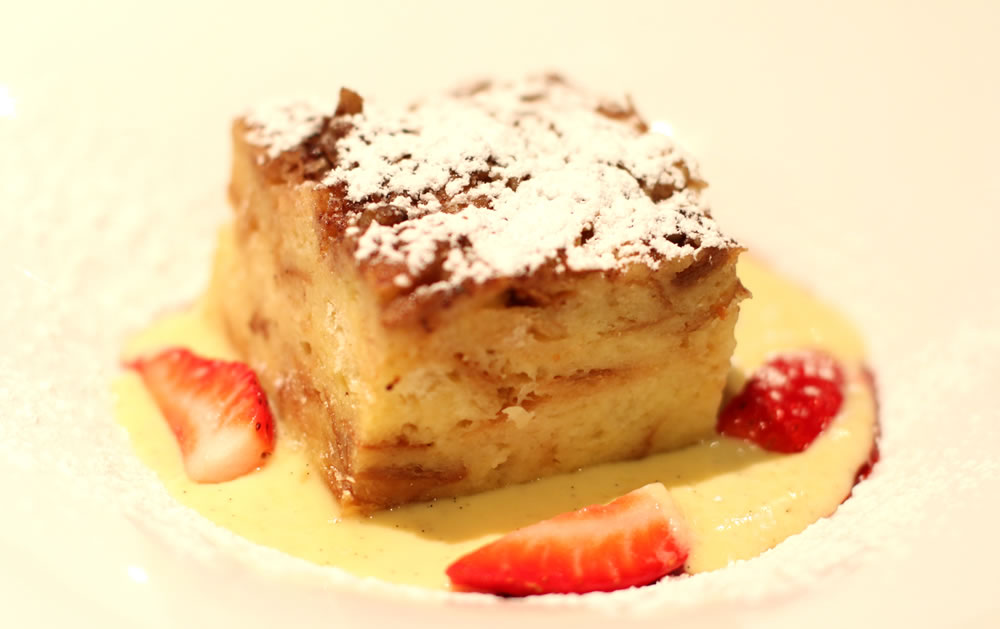 Renaissance Bread Pudding | M Bar @ Renaissance Washington, DC Dupont Circle Hotel