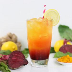 Immune-Boosting Beet-Turmeric Refresher | Better Living