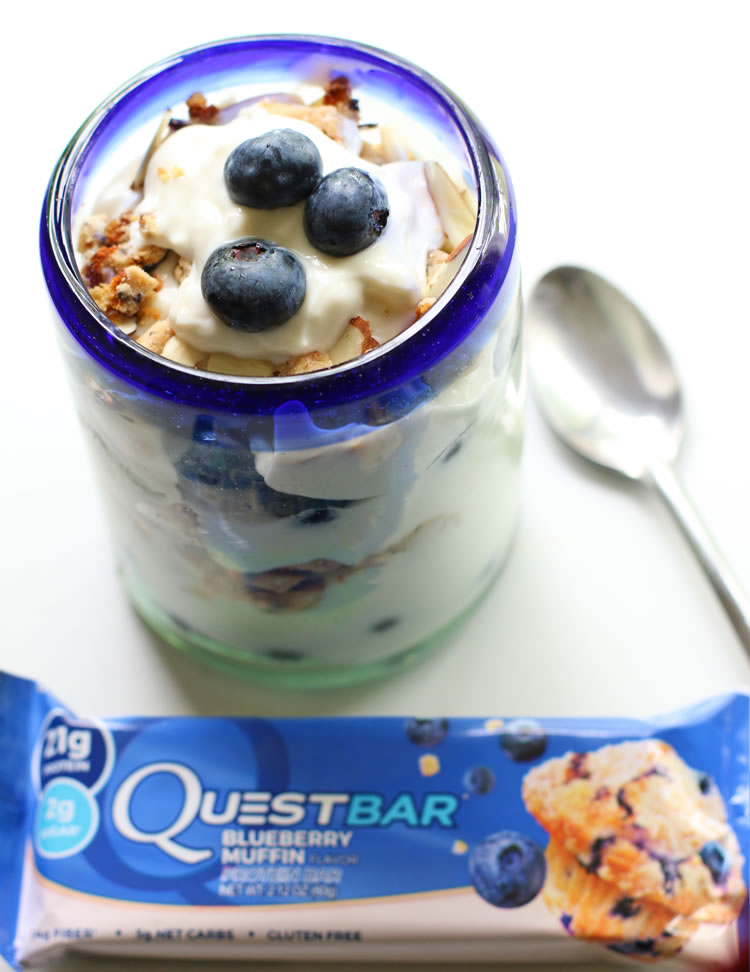 Blueberry Muffin Quest Bar