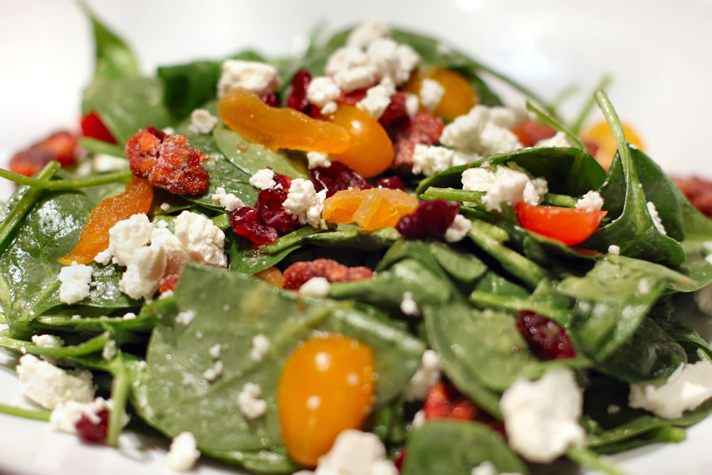 Baby Spinach Salad | M Bar @ Renaissance Washington, DC Dupont Circle Hotel