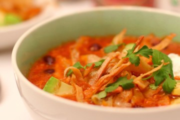 Easy Tortilla Soup Recipe