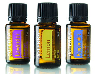 Doterra Essential Oils Lavender Lemon Pepperment