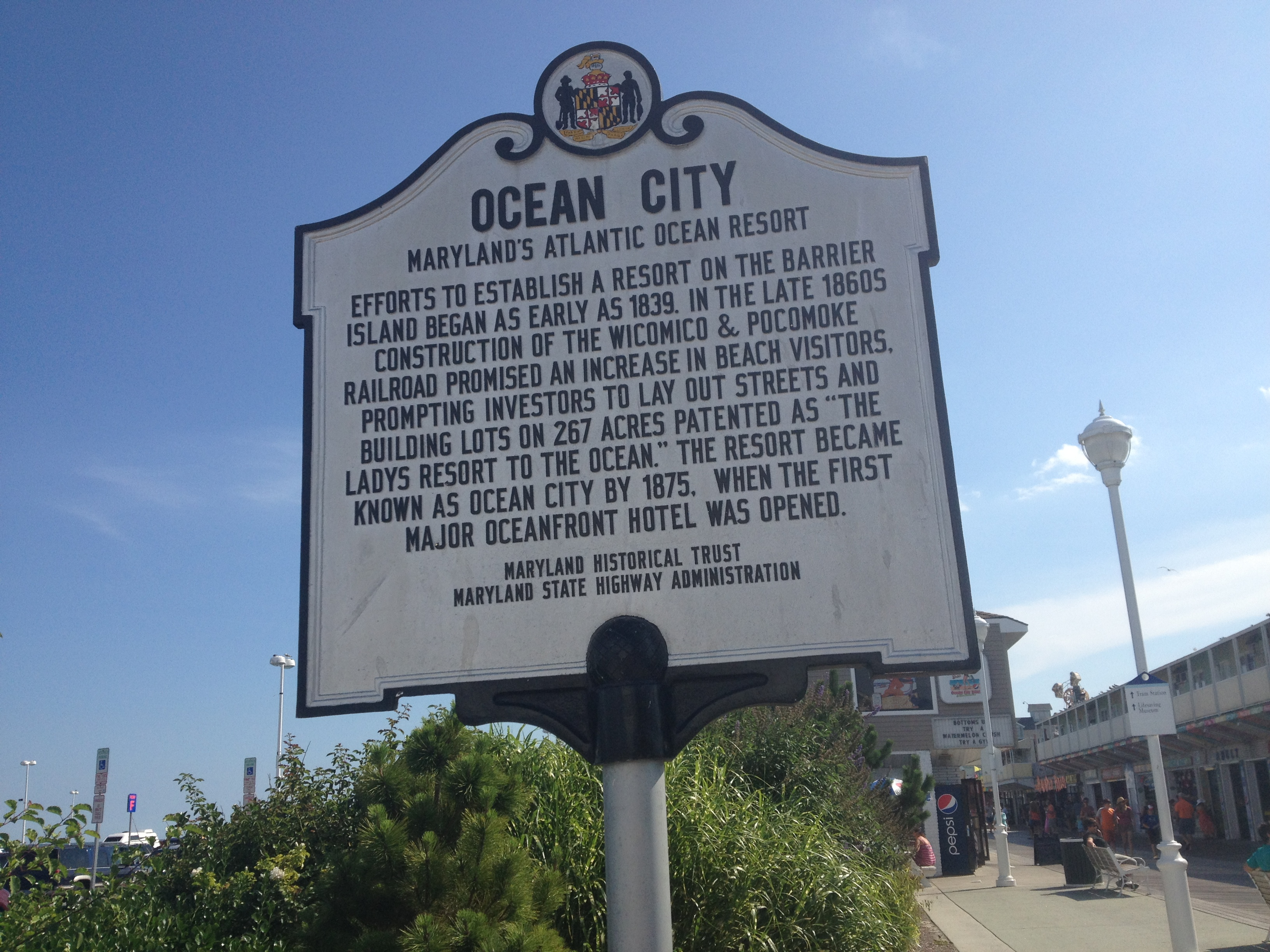 Ocean_City_MD_historical_marker