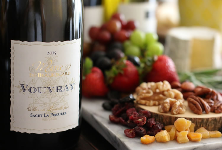 Saget la Perriere Vouvray Marie de Beauregard 2015 - Chenin Blanc French Wine