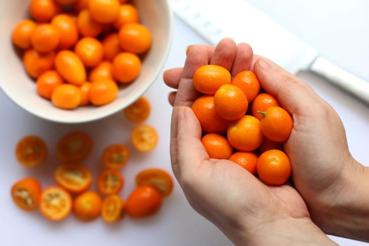 Sliced Kumquats