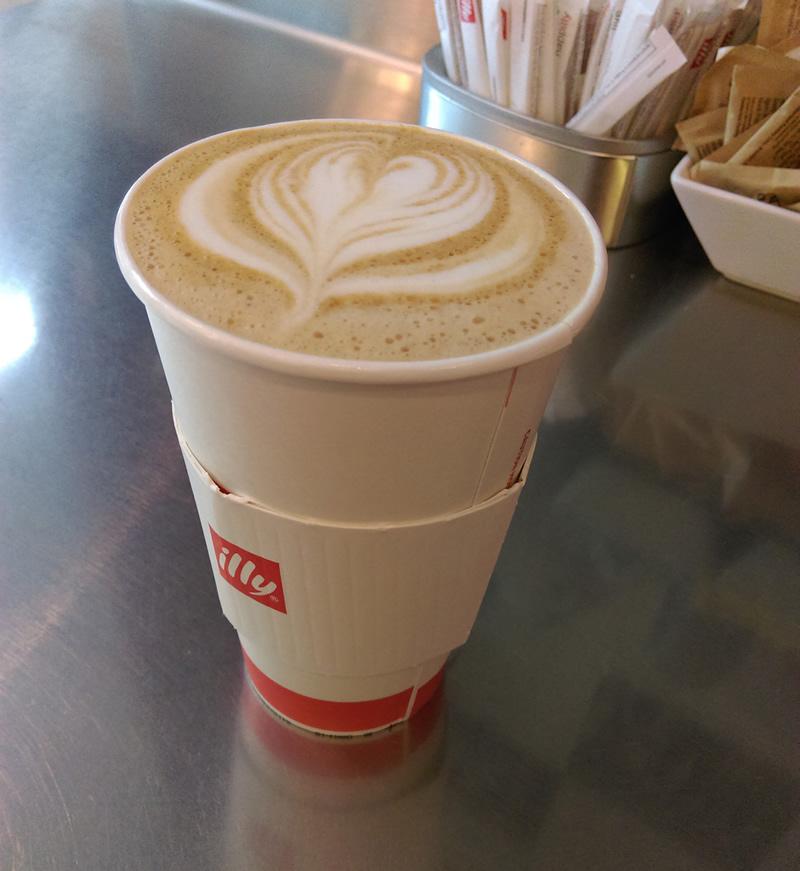 Eggnog Latte @ the Renaissance Washington D.C. , Dupont Circle