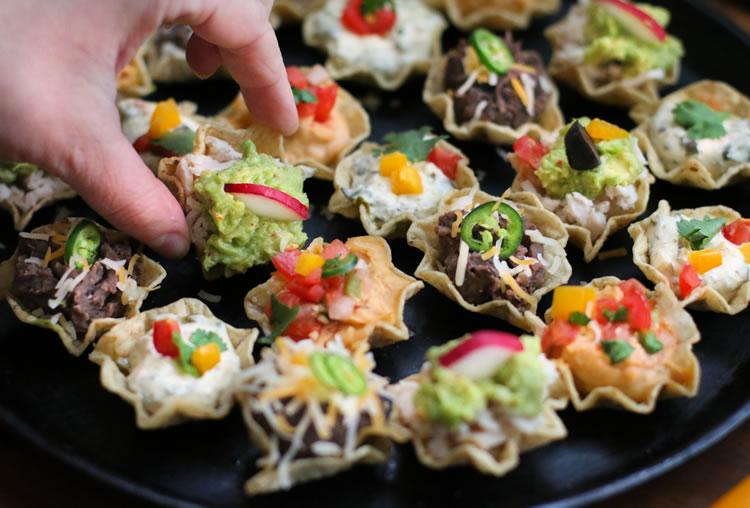 Tostitos Scoops Snack Ideas | www.onbetterliving.com