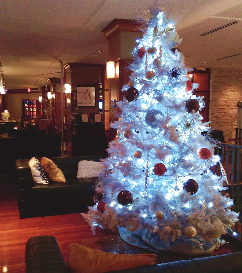 Christmas Tree In The Lobby of the Renaissance Washington D.C., Dupont Circle