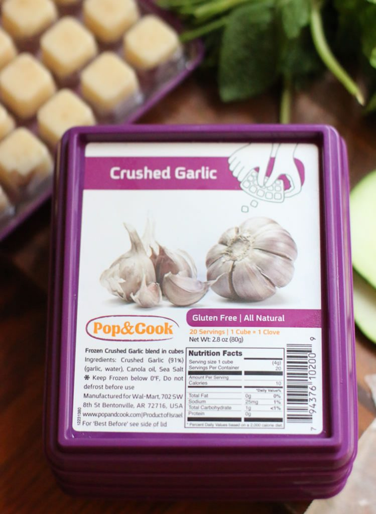 Pop And Cook Crushed Garlic Recipe