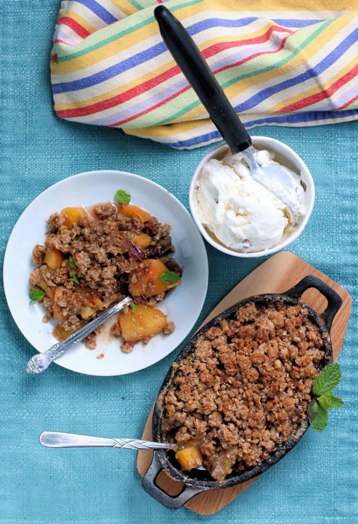 Recipe: Nectarine Crisp (Gluten-Free, Grain-Free)