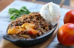 Nectarine Crisp Recipe