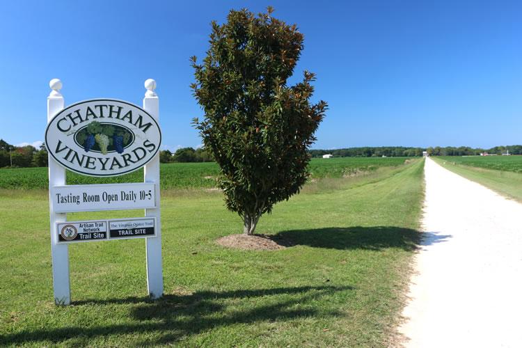 Chatham Vineyards on Virginia's Eastern Shore | www.onbetterliving.com