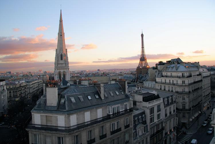 Eiffel Tower Views in Paris