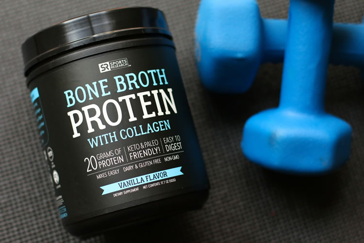 Sports Research Bone Broth Protein With Collagen Is An Easily Digestible Gut Friendly Source Of Made From The Certified Free Range