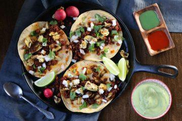 Recipe: Crispy Chorizo And Artichoke Heart Tacos