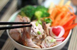 Pork Teriyaki Bowl with veggies