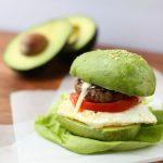 Avocado Bun Breakfast Sandwich