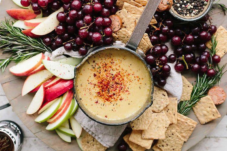 triple cheese fondue recipe