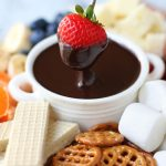 Recipe Quick And Easy Chocolate Caramel Fondue With Marsala Cooking Wine