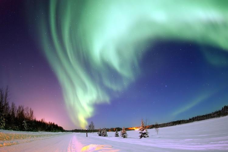 Here's Where To See The Aurora Borealis In The U.S. Alaska Fairbanks