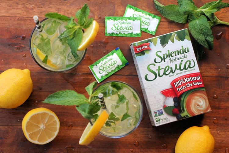 Splenda Stevia Naturals Recipe For Mint Lemonade