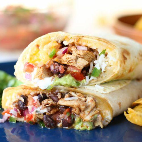7 Layer Burrito Recipe With Chicken