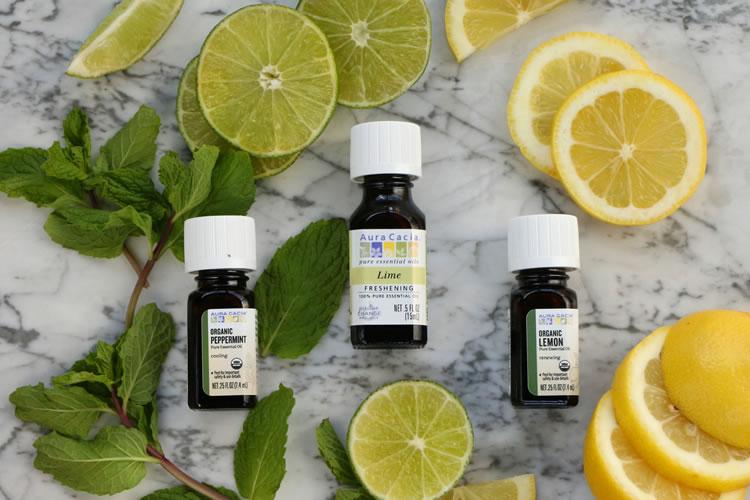 DIY Citrus Mint Body Butter With Aura Cacia Essential Oils Lime Lemon Peppermint mint