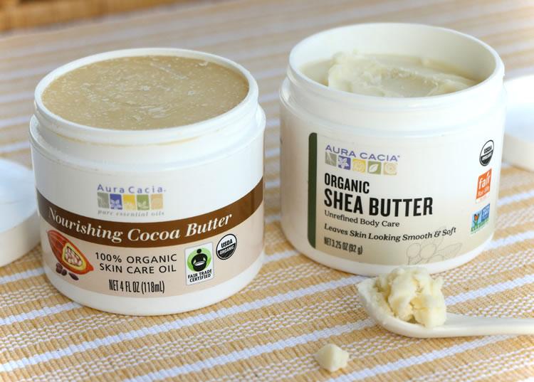 DIY Body Butter Recipe With Aura Cacia Organic Shea Butter And Nourishing Cocoa Butter