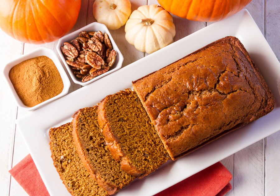 Pumpkin Spiced Bread Recipe