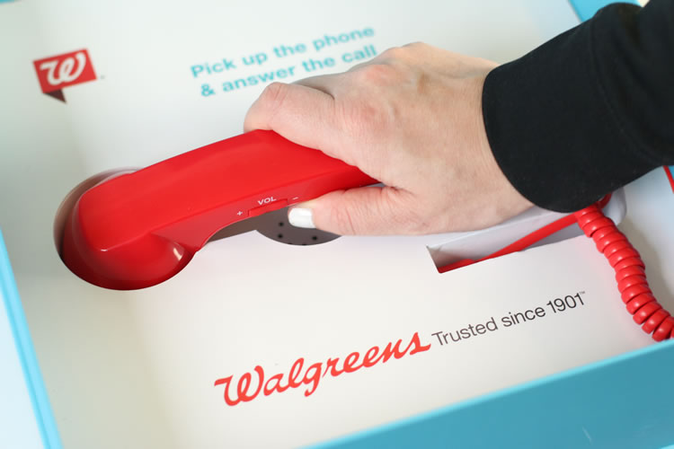 Walgreens Red Phone