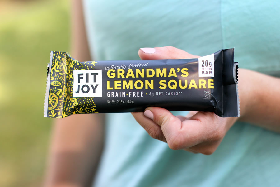 FitJoy Protein Bars Grandma's Lemon Square