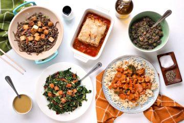 Veestro Meals Flat-Lay