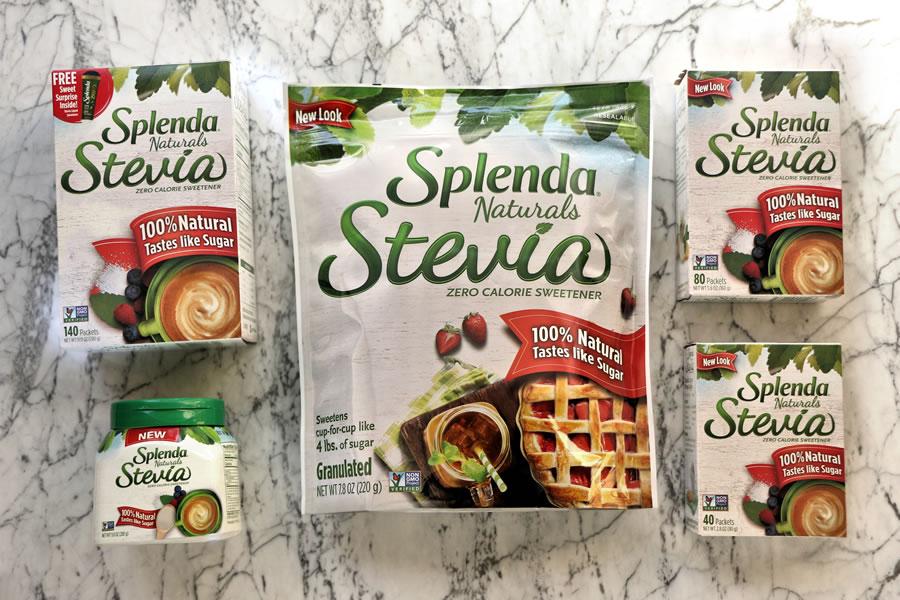 Splenda Naturals Stevia product line