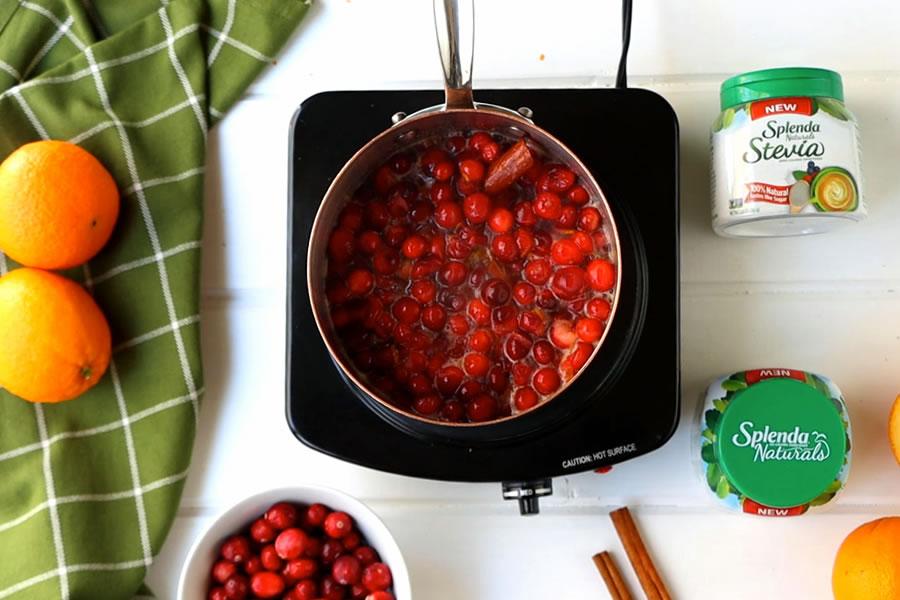keto friendly cranberry sauce