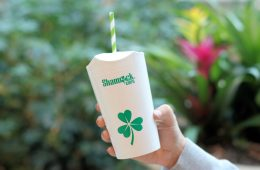 Shamrock Cups reduce plastic waste