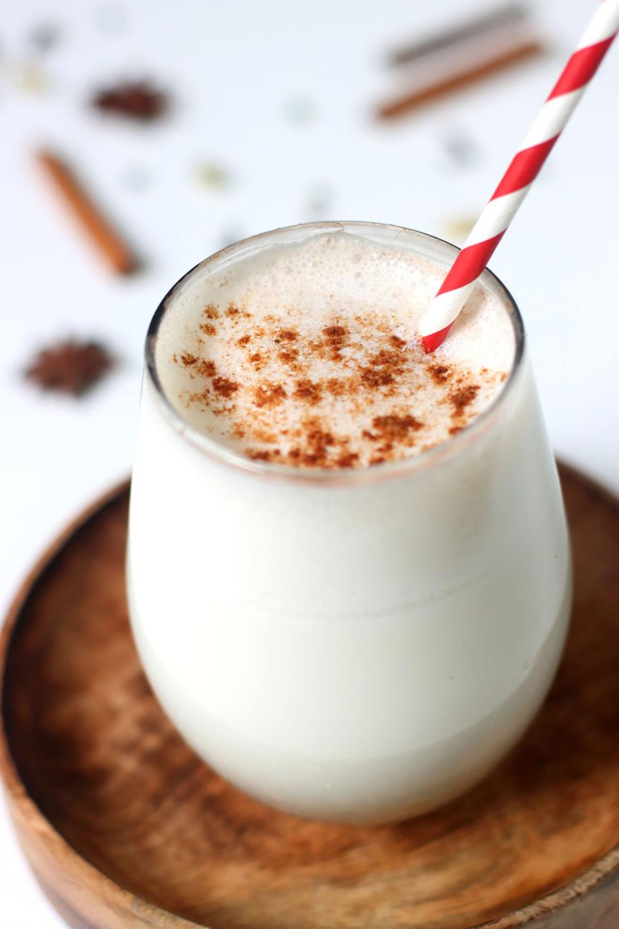 Receta de batido de colágeno y vainilla Chai |  Vivir mejor