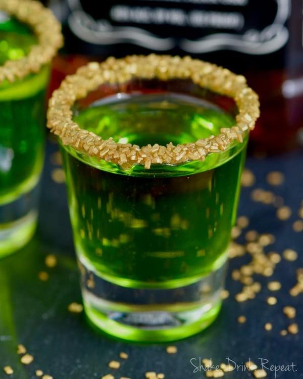 Lucky Leprechaun Shots for St. Patrick's Day