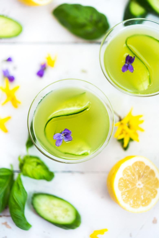 Green Vodka Cocktail St. Patrick's Day