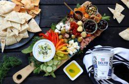 Delta Yogurt Greek Meze Board